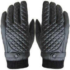 Comfortable Men Thermal Winter Motorcycle Sports Leather Touch Screen Gloves New