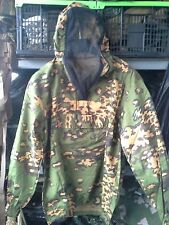 Russian Army Light summer Anorak partizan SS Frog with antimoscitol net.
