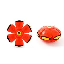 New Flying UFO Flat Throw Disc Ball Toy Fancy Soft Kids Outdoor Grame Toy