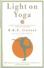 """LIKE NEW COND""  LIGHT ON YOGA by B. K. S. Iyengar (1995)"