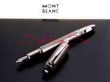 Montblanc starwalker rellenador midnight black metal Fountain pluma Mont Blanc
