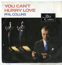 """Phil Collins - You Can't Hurry Love 7"""" Single 1982"""