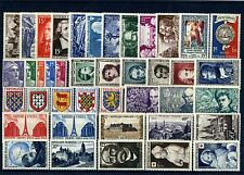 FRANCE ANNEE COMPLETE 1951 NEUF ** SANS CHARNIERE
