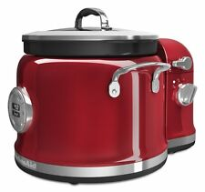 KitchenAid Multi-Cooker with Stir Tower Accessory, Candy Apple Red, KMC4244CA