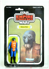 Vintage Star Wars Carded ESB Walrus Man 32 Back-A Action Figure AFA 80 NM #12261