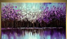Hand-painted Modern HUGE Wall Decor Art Abstract Oil Painting On Canvas No Frame