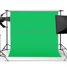 10ft x 10ft Chromakey Green Screen Muslin Backdrop Photography Background 3 x 3m
