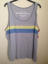 MOSSIMO SUPPLY CO ATHLETIC FIT UTILITY & STYLE SLEEVELESS  Tank Top SHIRT NWT
