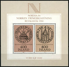 Iceland 1982 SG#MS619 Nordic Stamp Exhibition MNH M/S #D40570