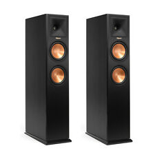 PAIR FLOOR STANDING SPEAKERS KLIPSCH RP-260F RP260F BRAND NEW ! WARRANTY EBONY
