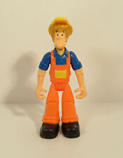 """2007 Construction Worker Shaggy 4.75"""" Thinkway Toys Action Figure Scooby-Doo"""