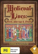 Medieval Lives: Birth, Marriage and Death NEW R4 DVD