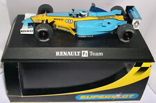 SUPERSLOT H2397 RENAULT R23 F1  #7  JARNO TRULLI   SCALEXTRIC UK  MB