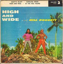 """BILL DOGGETT """"SCOTT BLUFF"""" RHYTHM & BLUES JAZZ 50'S EP KING 443"""