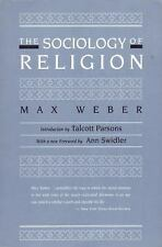 The Sociology of Religion by Weber, Max
