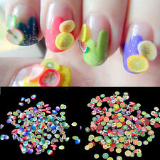 1000pcs Nail Art Fimo Canes Sticker Rods Polymer Clay Stickers DIY Decor Decal