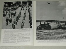 1949 magazine article, Germany post WWII, USA & UK Occupation Zone
