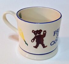 "EMMA BRIDGEWATER Child's Mug Cup "" A Present For A Good Boy"" England Rare"