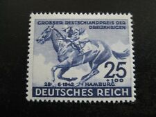 THIRD REICH 1942 mint Blaues Band Horse Race stamp!