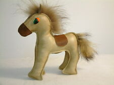 altes Kinderspielzeug Leder pferd 60er DDR