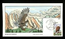 Collins HP FDC #2309 (M1224) Bald Eagle 1987 Capex Station - Toronto, Canada