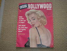 MARILYN MONROE INSIDE HOLLYWOOD ANNUAL #1 1955 USA MAG JOE DI MAGGIO COPERTINA