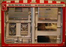 1969 Big Rig Tractors & trailers Mercury Chrome plated Sleeper, 1:25, oficina 0012