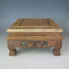 Old Handwork wood Carving Of Appreciation Tables Statue