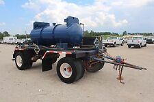 2013 Pup Tanker Trailer - 750 Gallon - DOT 412 - Mobile Acid Tank - VGC