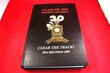 Vtg 1997 Yearbook Princeton University 'Clear the Track!' 30th Anniversary(1967)