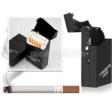 Aluminio Pitillera Caja para 20 Cigarrillos Tabaco Portátil Regalo para Hombre