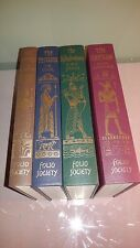 Folio Society EMPIRES OF THE ANCIENT NEAR EAST Egyptians Persians 4-Volume Set