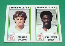 N°430 DUCUING - SIKELY MONTPELLIER D2 PANINI FOOTBALL 81 1980-1981