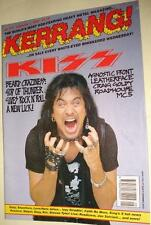 KERRANG! # 377 - KISS CRAIG GOLDY MC5 LEATHERFACE AGNOSTIC FRONT  JOE SATRIANI