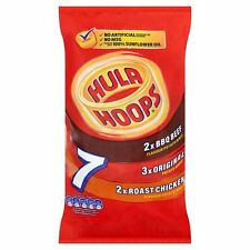 Walkers & hula hoops chips snacks