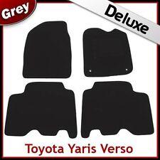 TOYOTA YARIS VERSO 1999-2005 1300g di lusso su misura tappetini auto moquette grigio