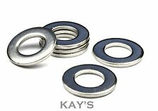 M12 A2 Stainless Steel Flat Washers x 10 (Free P&P)