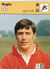 RUGBY carte joueur fiche photo  JOHN PULLIN ( ANGLETERRE )