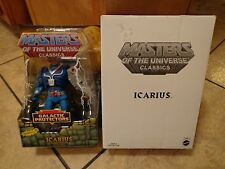 2011 MATTEL--MASTERS OF THE UNIVERSE--ICARIUS FIGURE (NEW) MATTY COLLECTOR