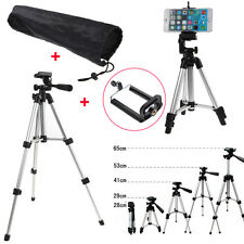 Universal Telescopic Camera Tripod Stand Holder Mount For Phone iPhone Nikon+Bag