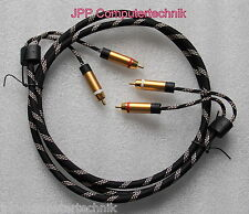 Cinch Kabel Audio Anschlusskabel 2 Stecker Stereo RCA HiFi Chinch 1,5m 150cm
