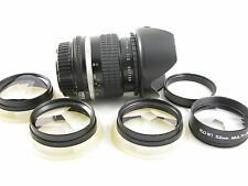 Nikkor 35 mm 1:2 Nikon AI-s mount + effect filters