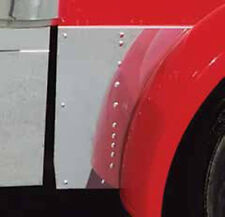 Peterbilt 379 Stainless Steel Extended Hood Extension Panels
