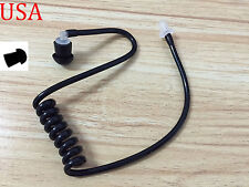 SPECIAL OPS Black Acoustic Tube for Police Soldier Two-Way Radio Earpieces