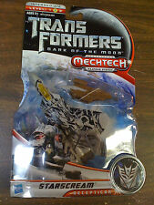 Transformers DOTM Starscream Figure Mechtech Deluxe Class NEW FREE SHIP US
