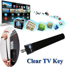 Mini Clear TV Key HDTV 100+ FREE HD TV Digital Indoor Antenna 1080p Ditch Cable