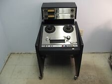 "Vintage AMPEX AG-440B 1/4"" 2-Track Reel-to-Reel Analog Recorder"