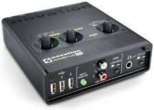 Novation Audiohub 2x4 Combined Audio Interface and USB 2.0 Hub, Novation Audiohu