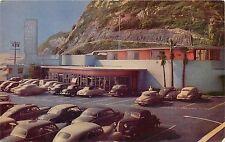 Vintage Postcard Carl's Sea Air Lodge, Restaurant PCH Hwy 101 Santa Monica CA