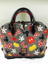 NEW Disney Dooney & Bourke - Mickey & Minnie Body Parts Satchel Bag